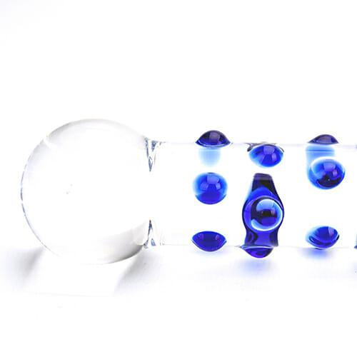 n11034-spectrum-nubby-textured-glass-dildo-1-wr