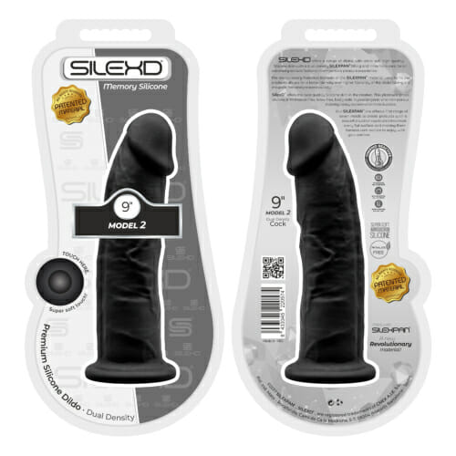 n11121-9-inch-realistic-girthy-silicone-dual-density-dildo-with-suction-cup-black-packaged