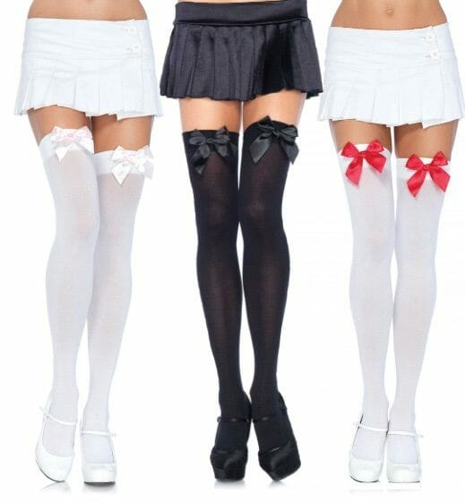 n9243-leg-avenue-nylon-thigh-highs-with-bow